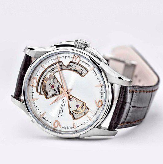 hamilton jazzmaster open heart auto horloge h32705551 3