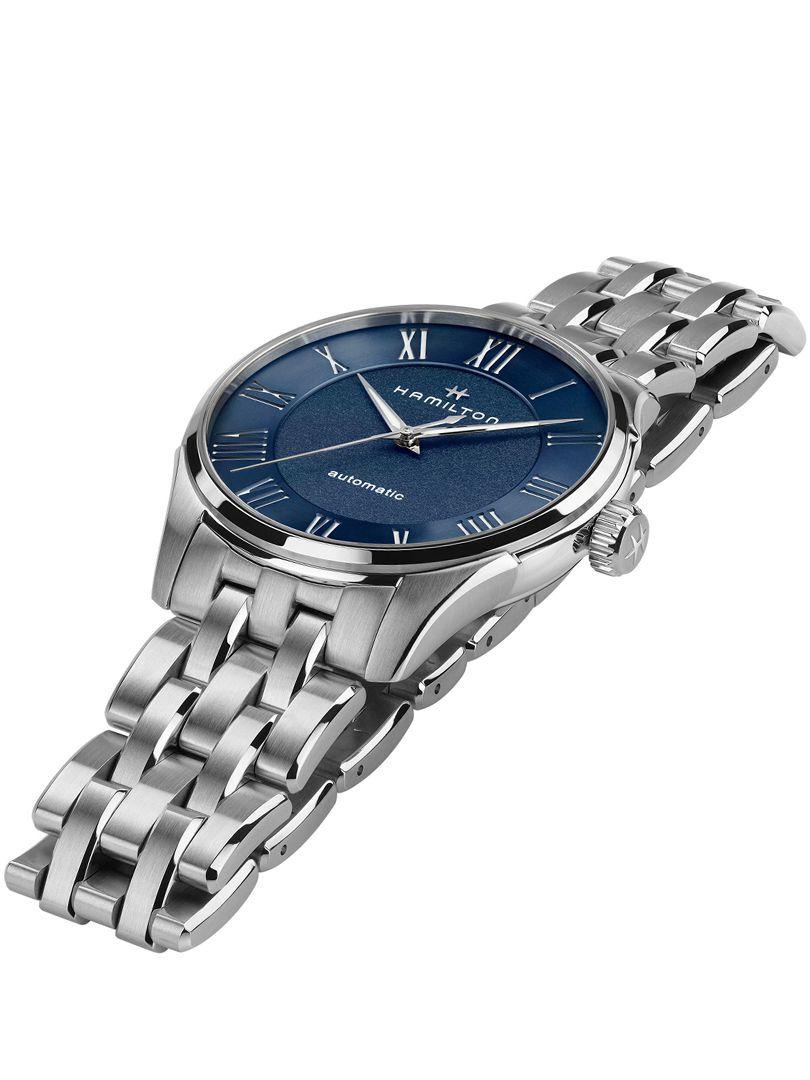 hamilton jazzmaster automatisch horloge h42535140 2