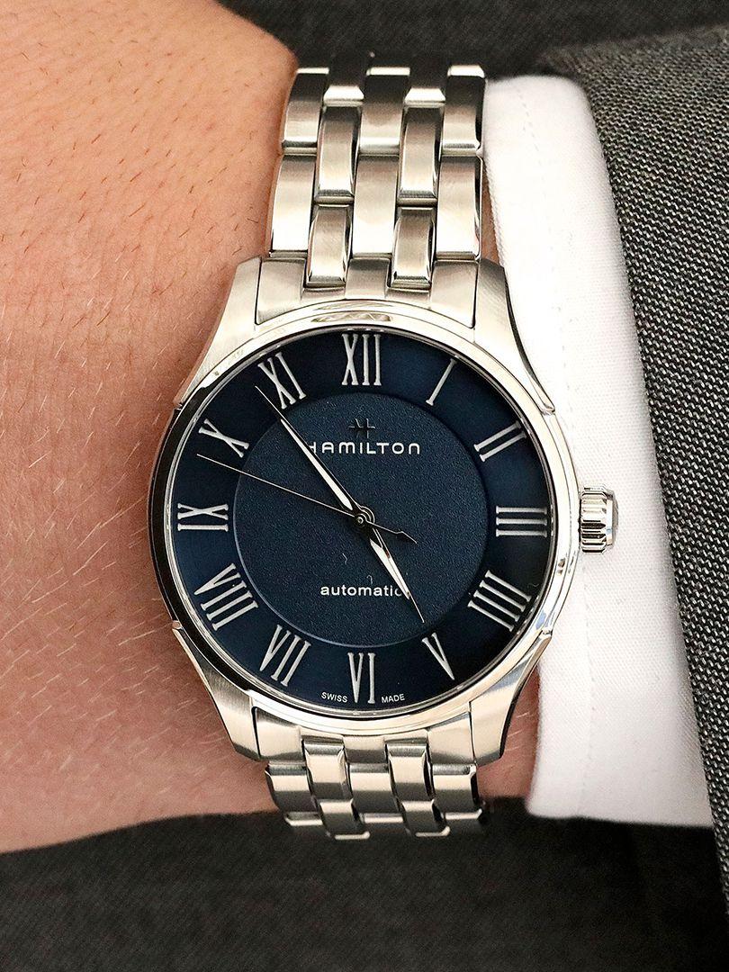 hamilton jazzmaster automatisch horloge h42535140 3