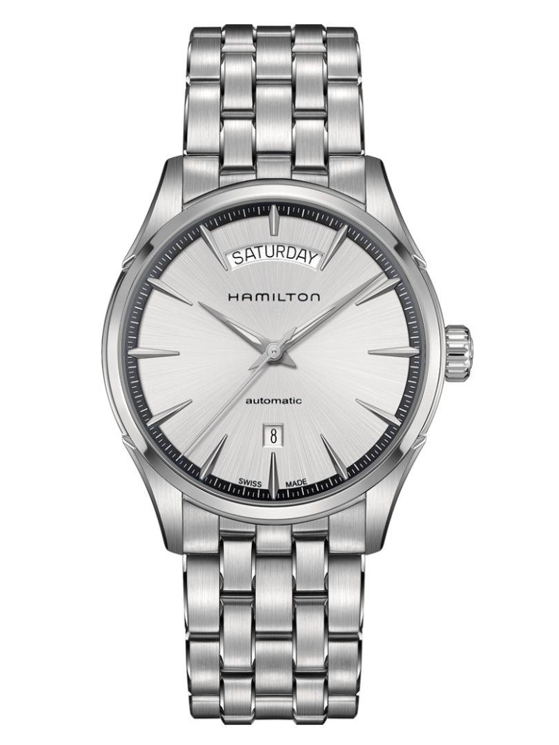hamilton jazzmaster day date horloge h42565151