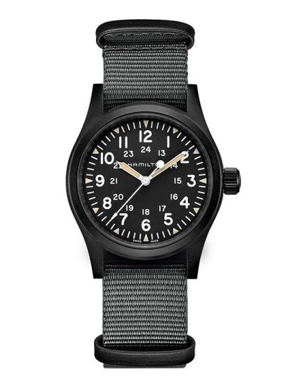 H69409930 Khaki Field Mechanical