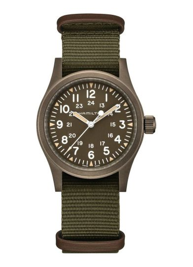 H69449961 Khaki Field Mechanical