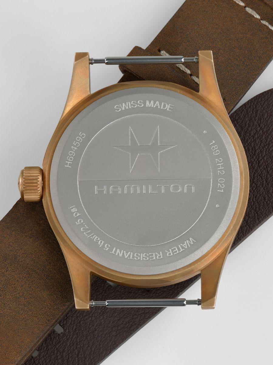 hamilton khaki field mechanical horloge h69459530 4