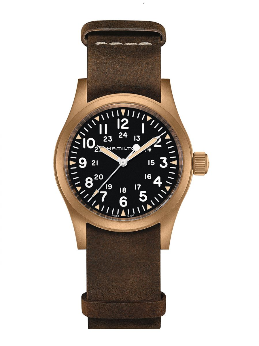 hamilton khaki field mechanical horloge h69459530 1