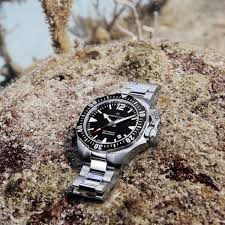 hamilton khaki navy frogman horloge h77605135