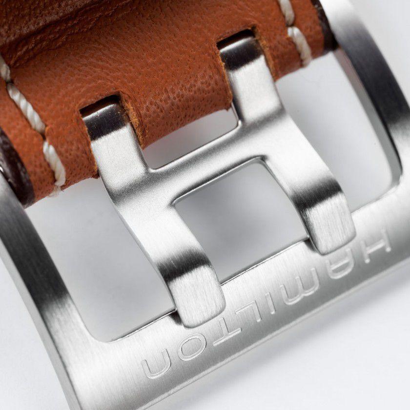 hamilton khaki aviation xwind auto chrono horloge h77616533 5