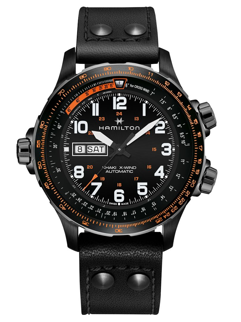 hamilton khaki aviation xwind h77785733