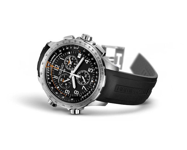 hamilton khaki aviation xwind gmt horloge h77912335 3