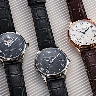 horloge bij een pak