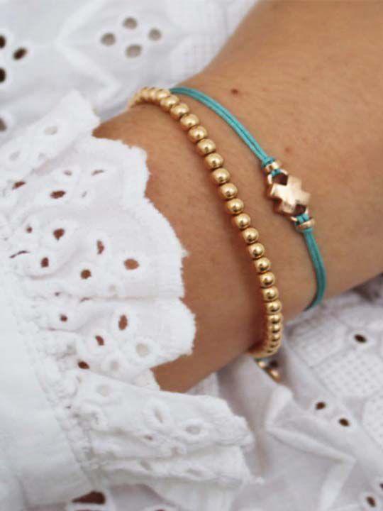 bron joy armband rosgouden kusje 8ar3981 2