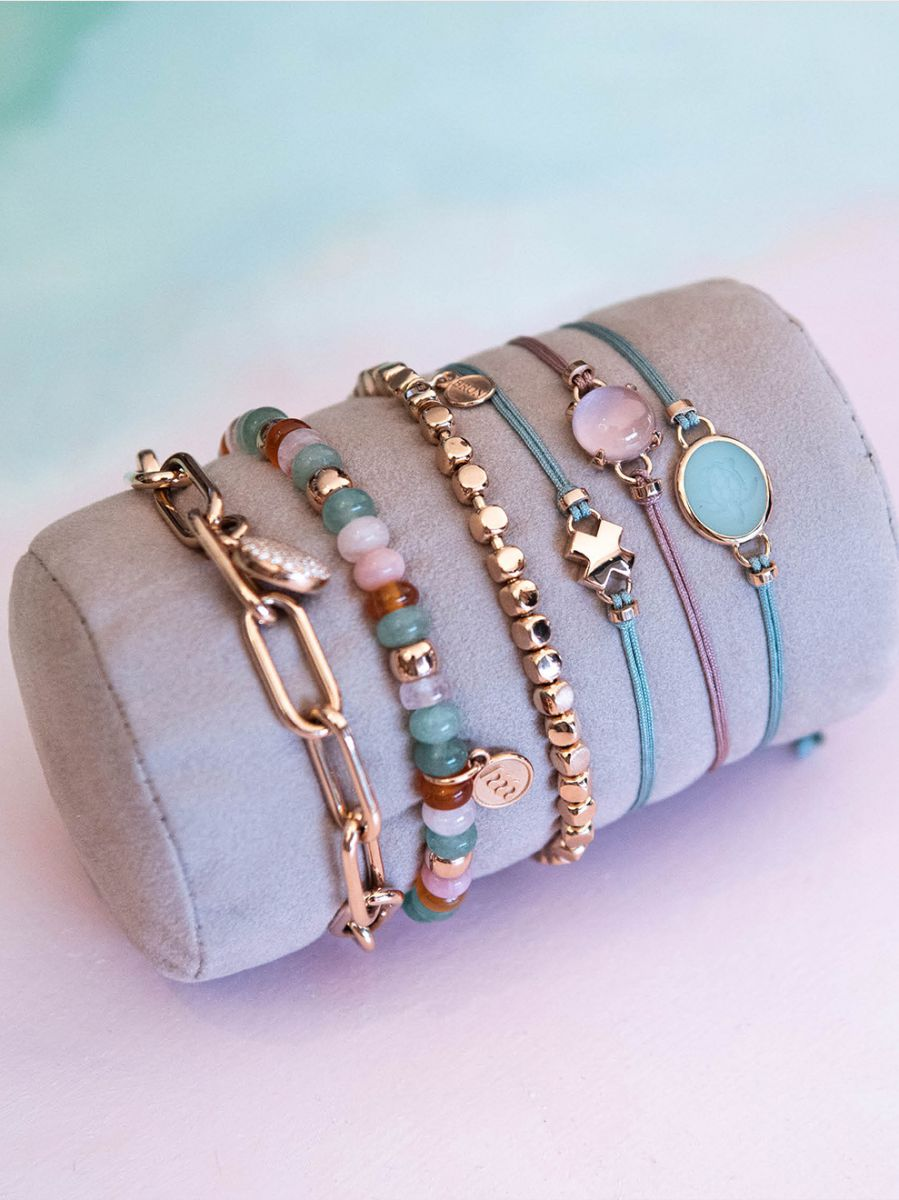 bron joy rosgouden armband kusje 8ar3981 5