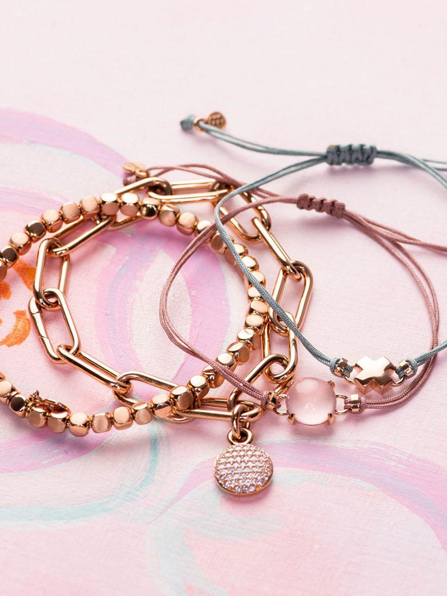 bron joy rosgouden armband kusje 8ar3981 4