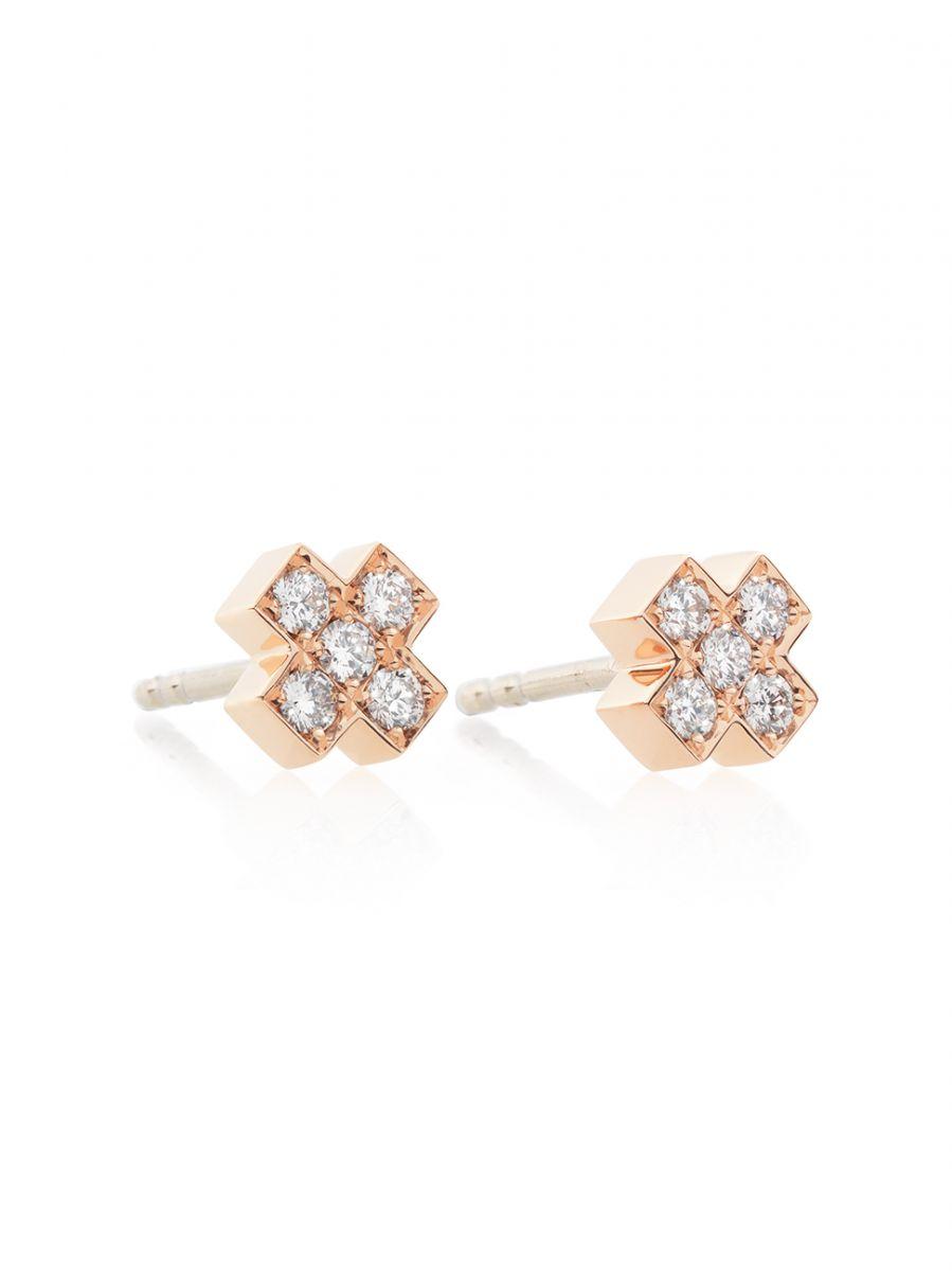 bron oorstekerskusje met diamant 8or4805br