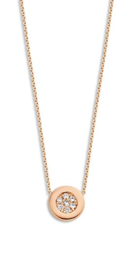 Just Diamond Coin collier