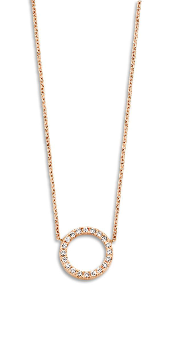 just franky ketting just diamond open circle