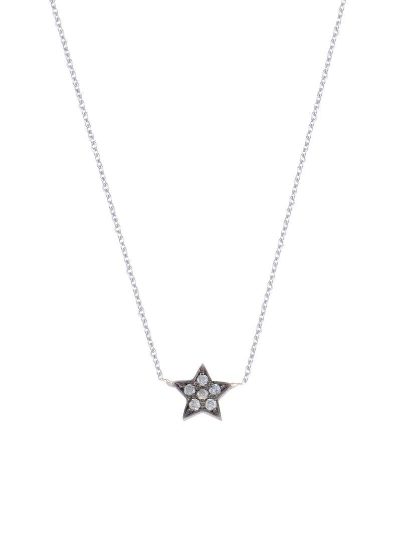 just diamond star collier