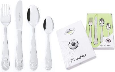 Keltum kinderbestek 4-delig ''FC junior'' KS067GA4