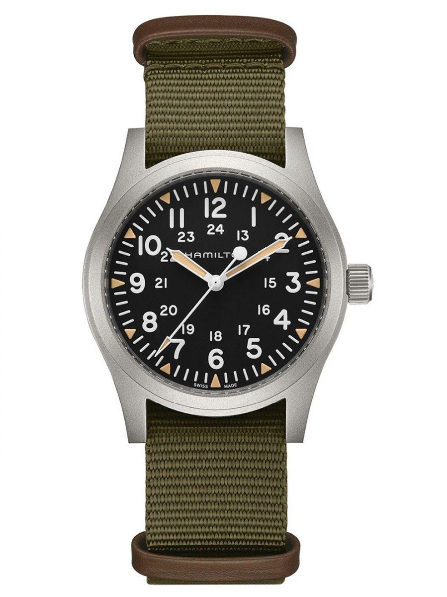 hamilton khaki field mechanical horloge h69529933 1