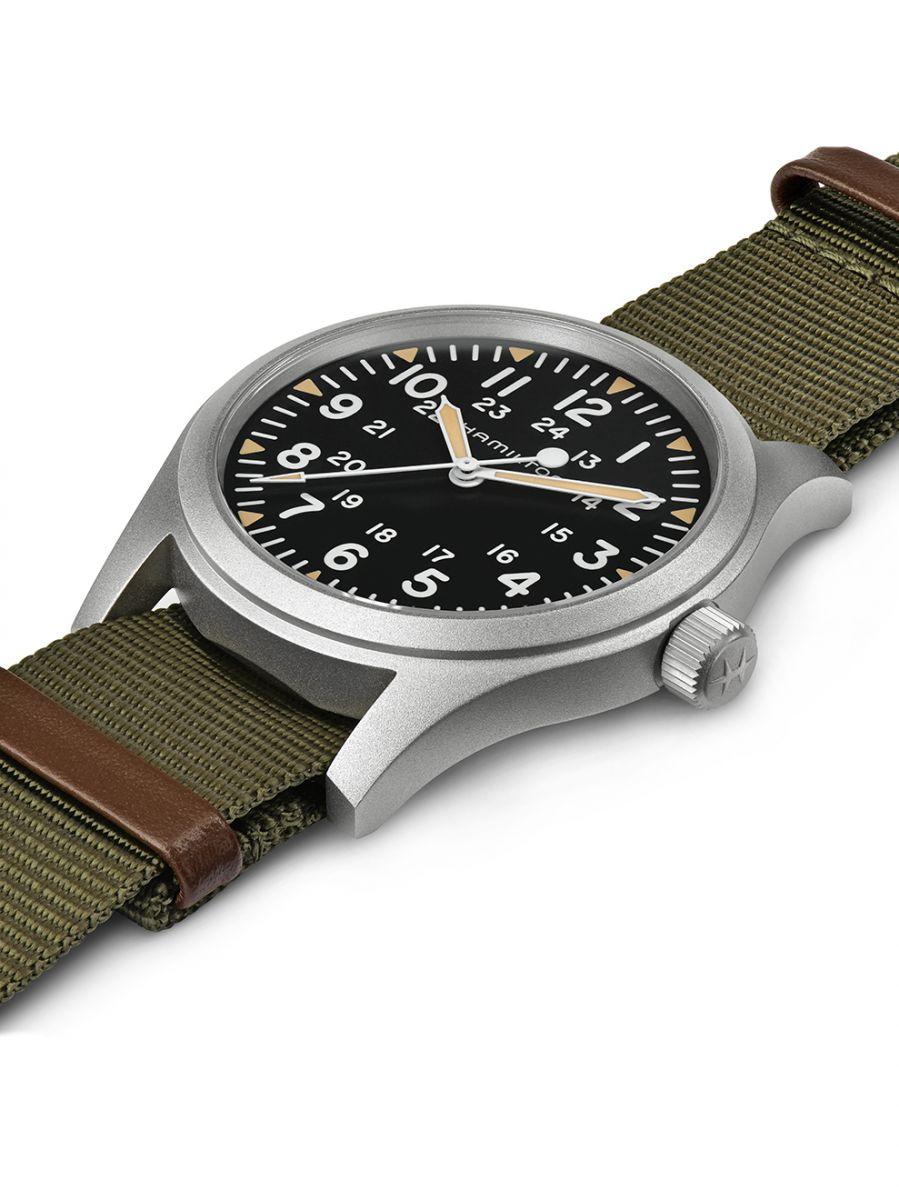 hamilton khaki field mechanical horloge h69529933 3