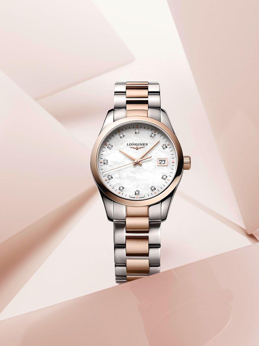 longines conquest classic horloge l238638774