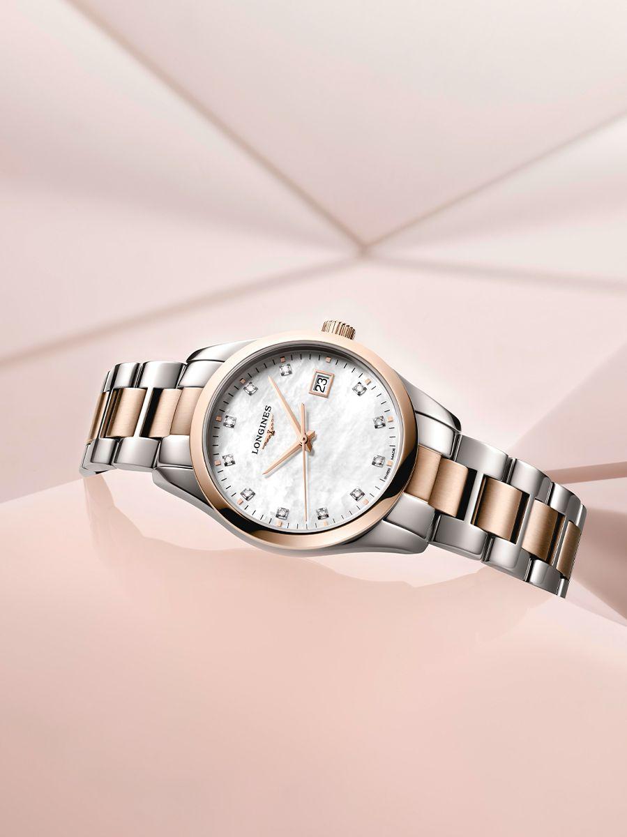longines conquest classic horloge l238638773