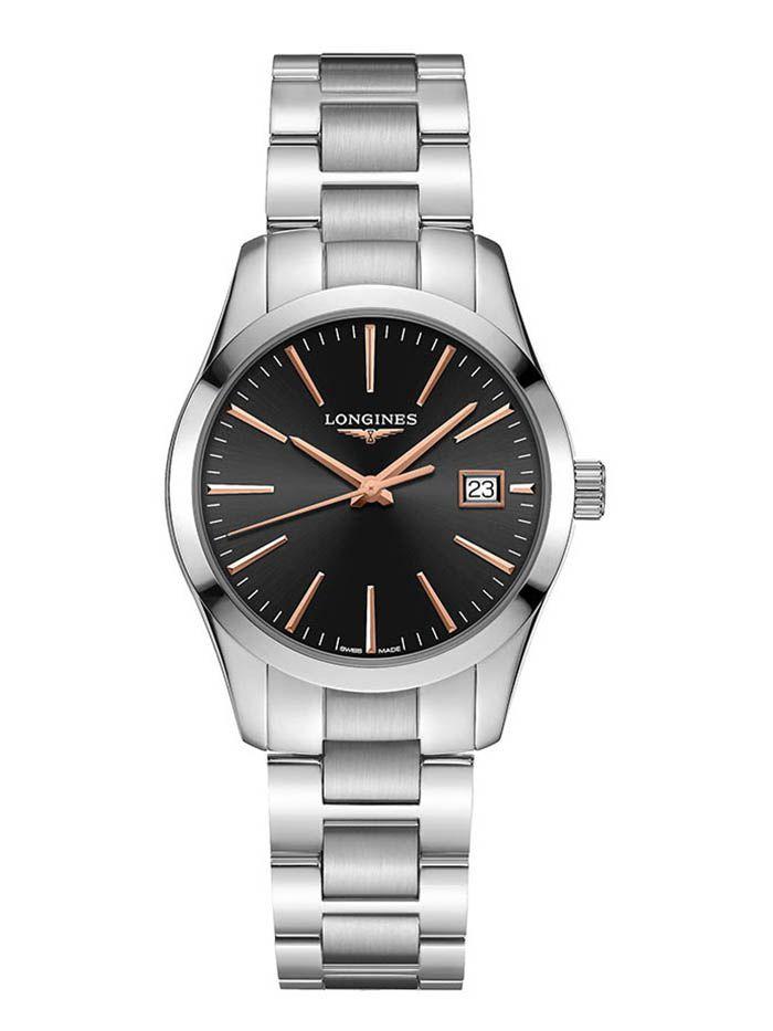 longines conquest classic horloge l23864526