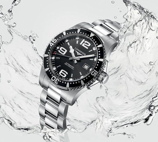 longines hydroconquest automaat 41mm horloge l37424566