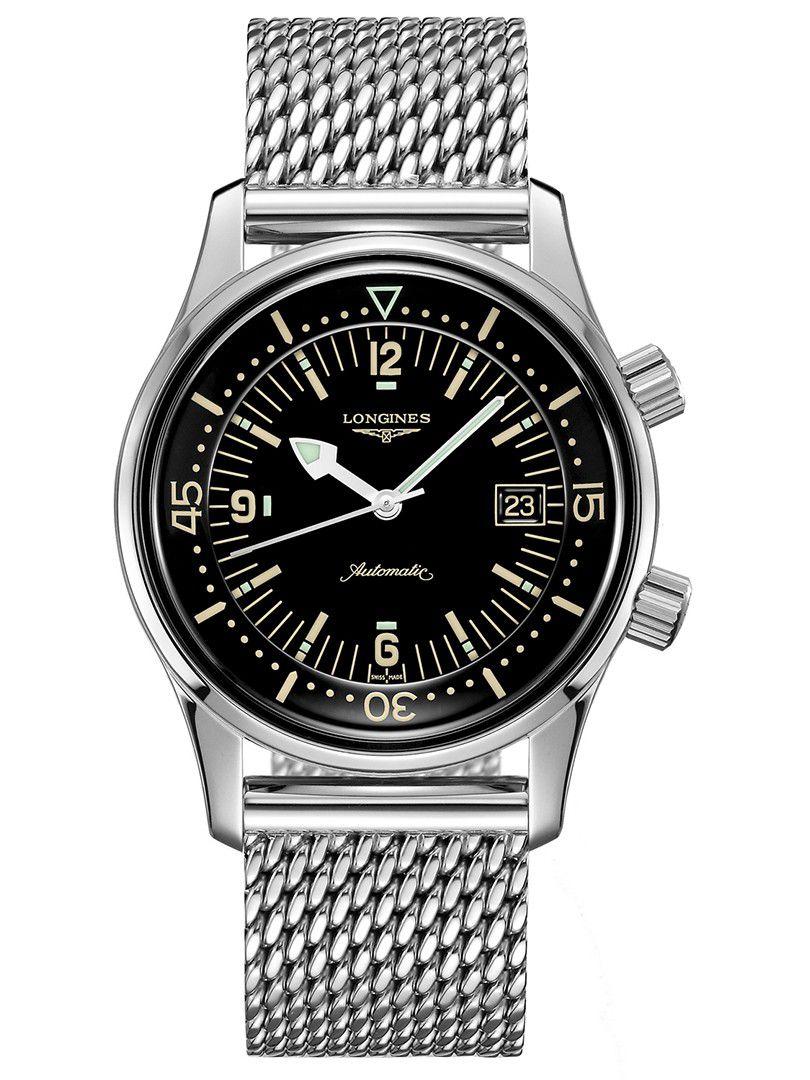 longines legend diver automatic horloge l37744506
