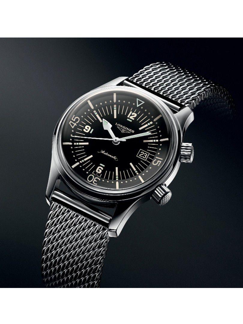 longines legend diver automatic horloge l37744506 2