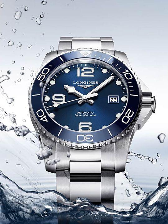 longines hydroconquest ceramic automaat horloge l378149663