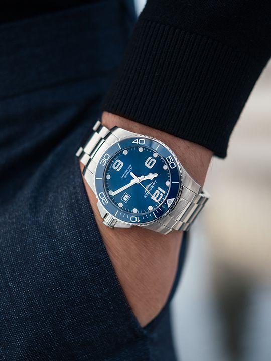 longines hydroconquest ceramic automaat horloge l378149662