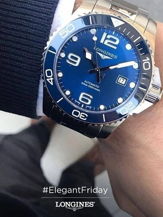 longines hydroconquest auto horloge l37824966 2