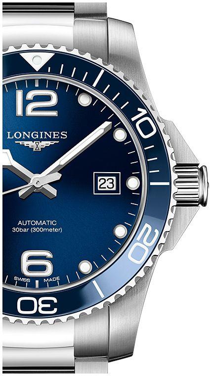 longines hydroconquest auto horloge l37824966 3