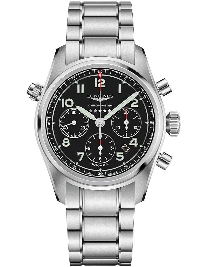 longines spirit chronograph horloge1