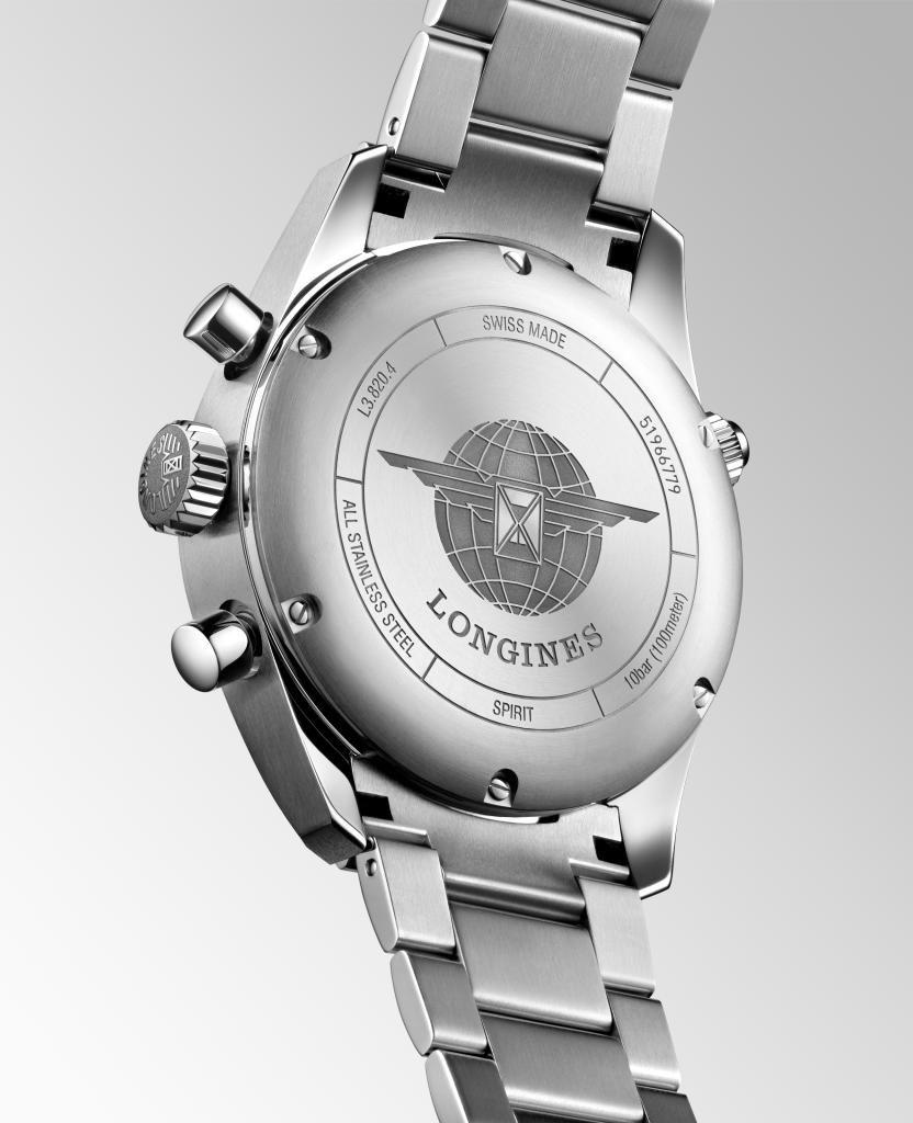longines spirit horloge chrono l38204936