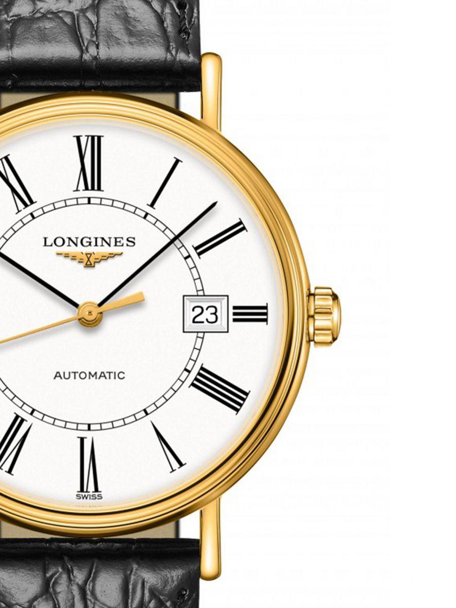 longines prsence automatic horloge l49222112 2