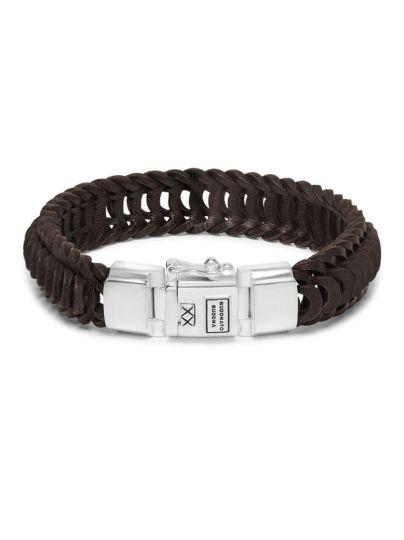 Lars Leather Brown armband
