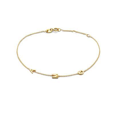 Love Letter Bracelet 3 Initials