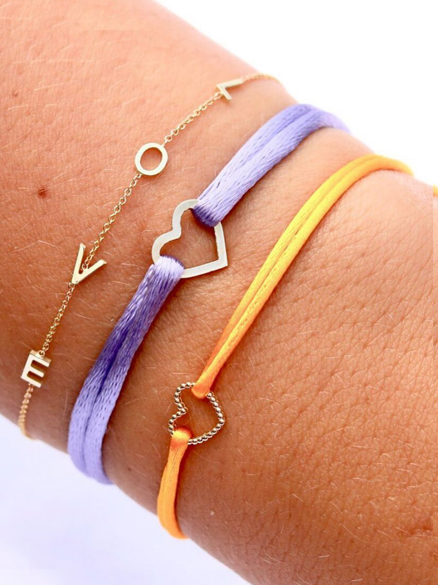 just franky armband love letter 4 initials 3