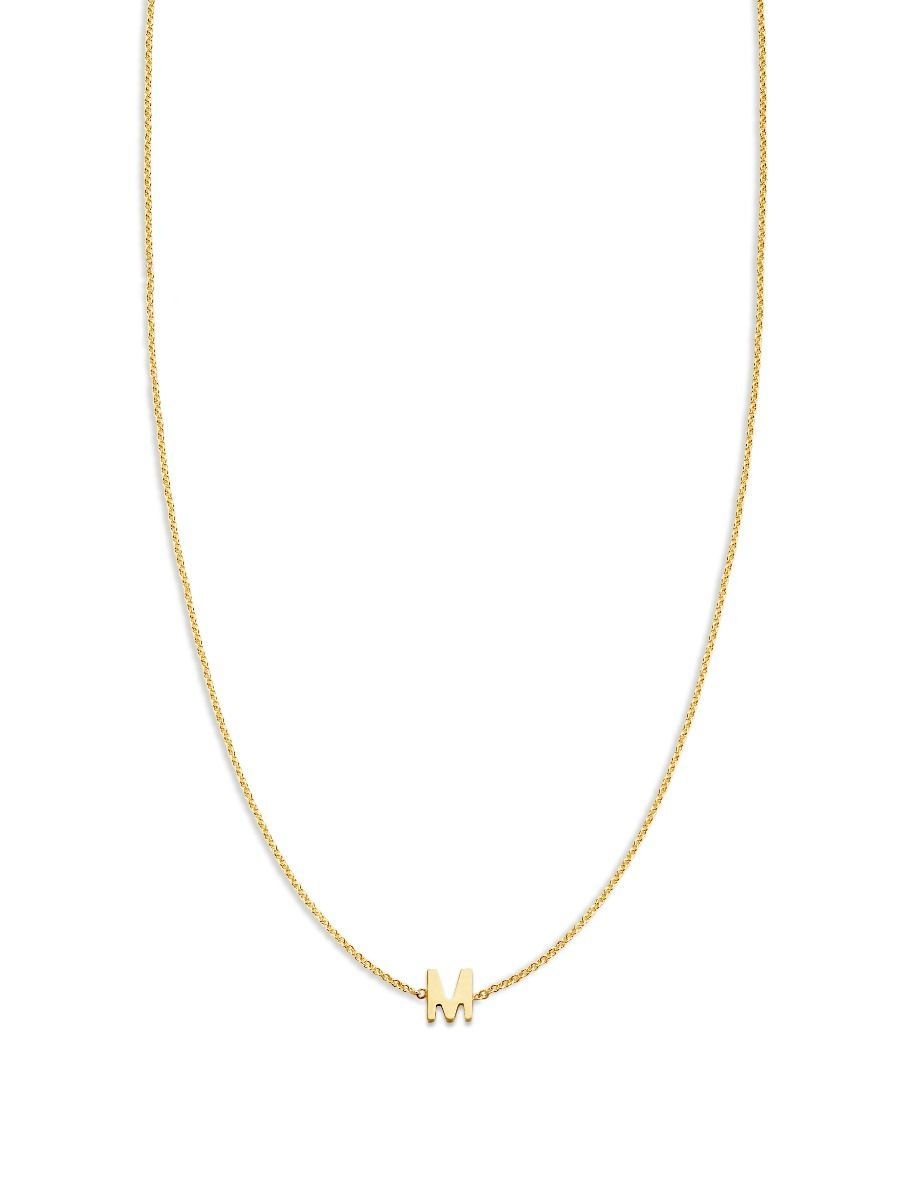 love letter necklace 1 initial
