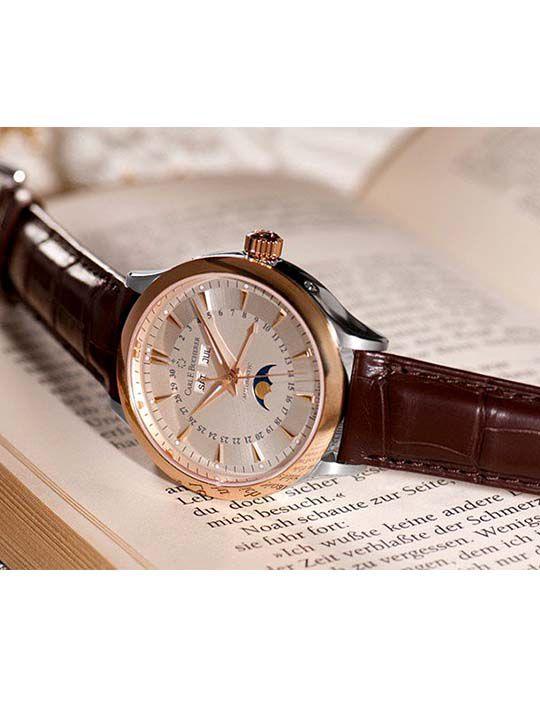 carl f bucherermanero automatic horloge 3