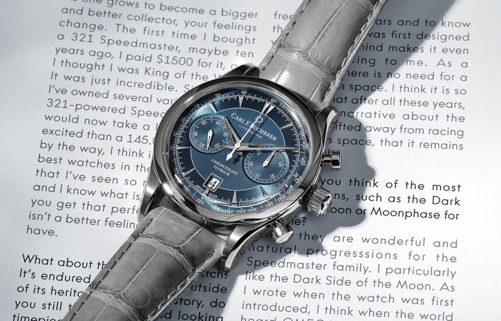 carl f bucherer manero flyback horloge 2
