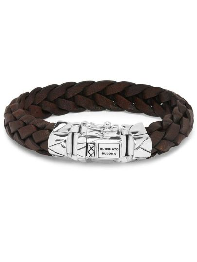 Mangky Leather Brown armband