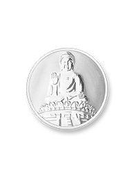 munt buddha silver plated xs
