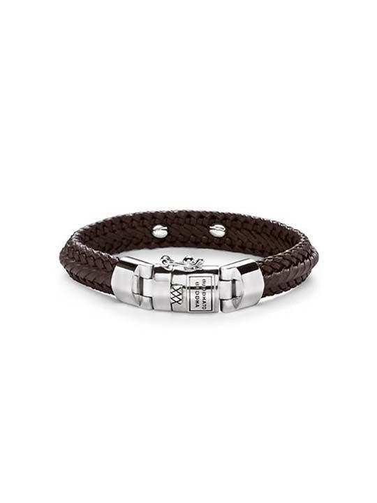 nurul small leather brown armband