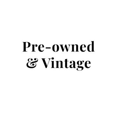 preowned vintage