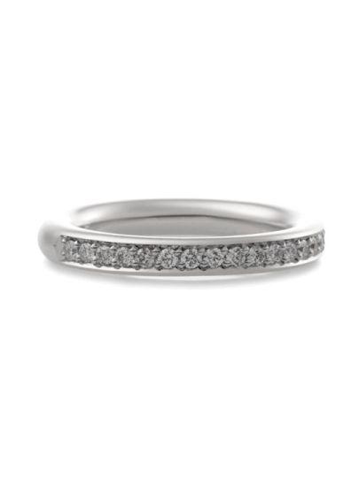 Stax ring met briljant