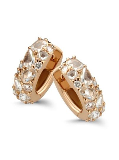 Taille Roos creolen diamant