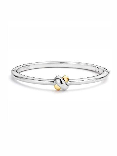 TM2119(2T) - armband zilver + goud