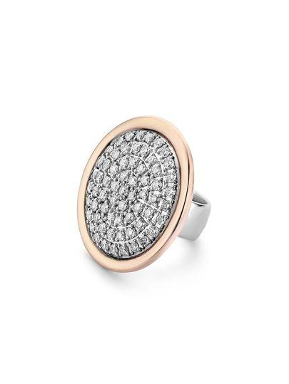 TM6161D(2P) - Schuifje Roségoud en Diamant